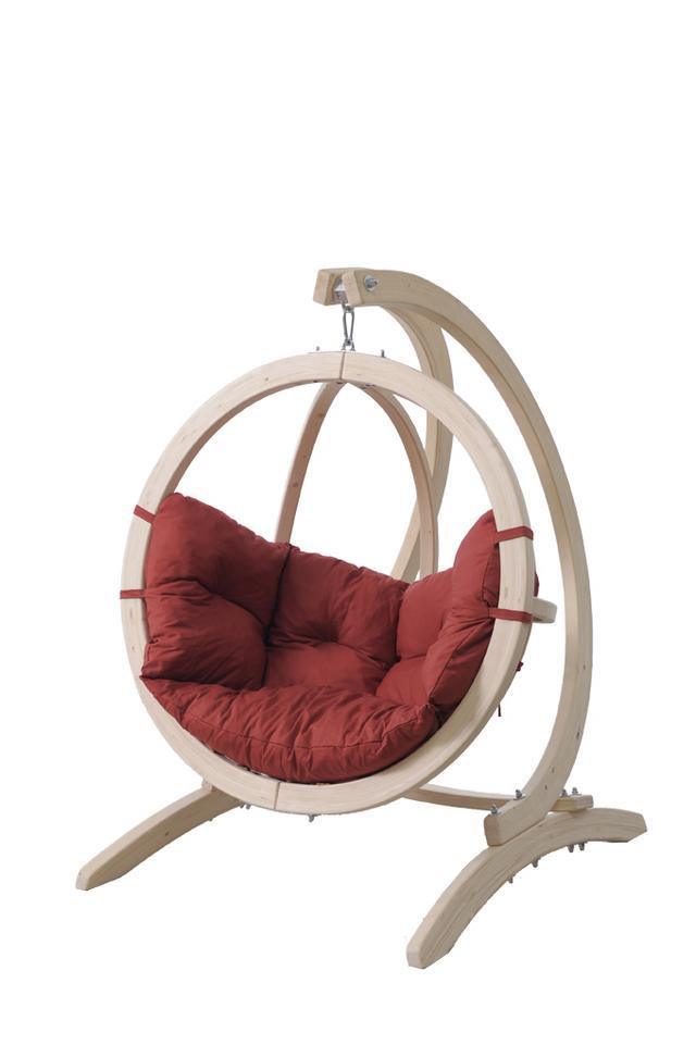 kinder h ngesessel kid 39 s globo terracotta. Black Bedroom Furniture Sets. Home Design Ideas
