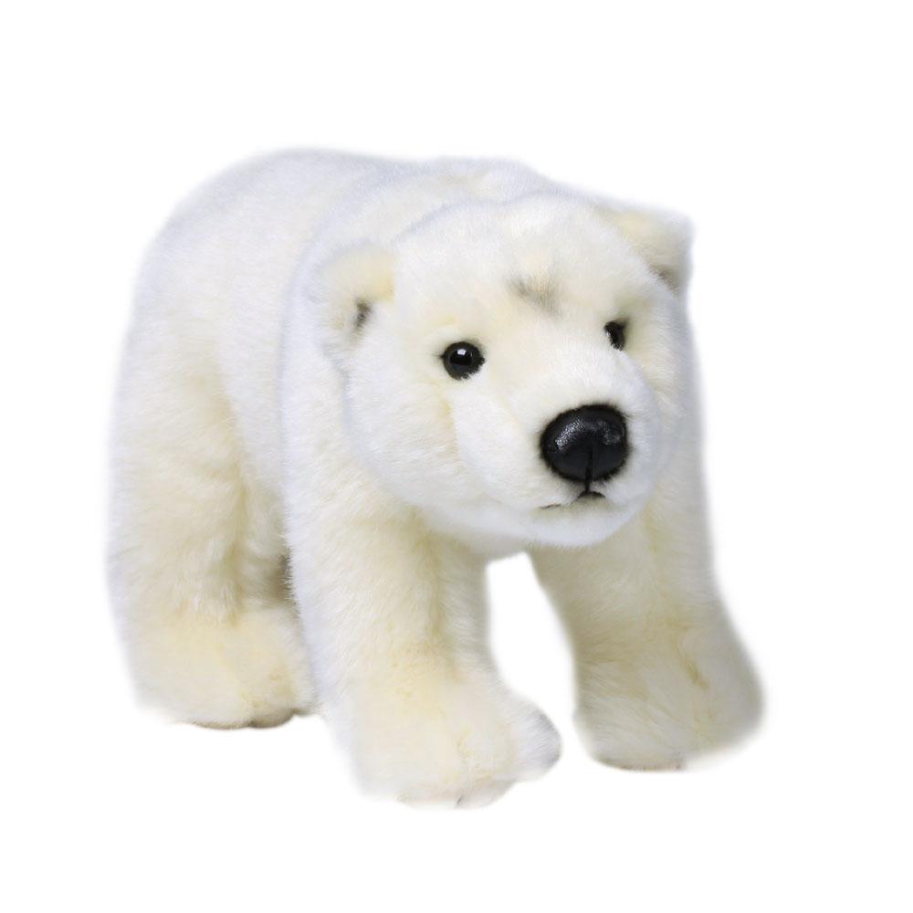 Plüschtier WWF Eisbär stehend, Grösse 23cm