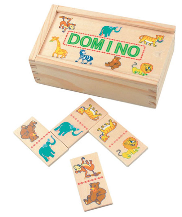 Domino-Mini, ZOO, 28-teilig