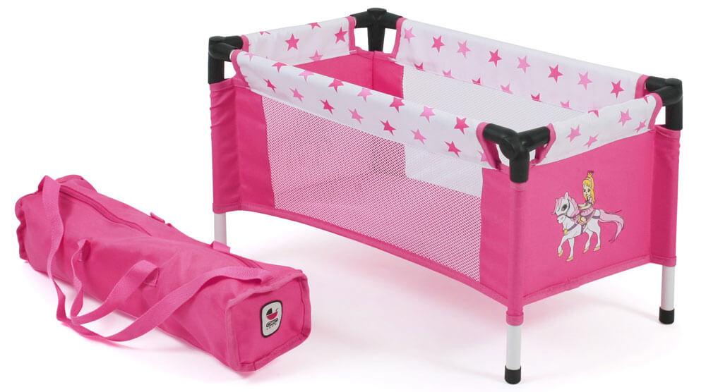 Puppen & Zubehör Babypuppen & Zubehör Puppenwiege Papilio pink pink