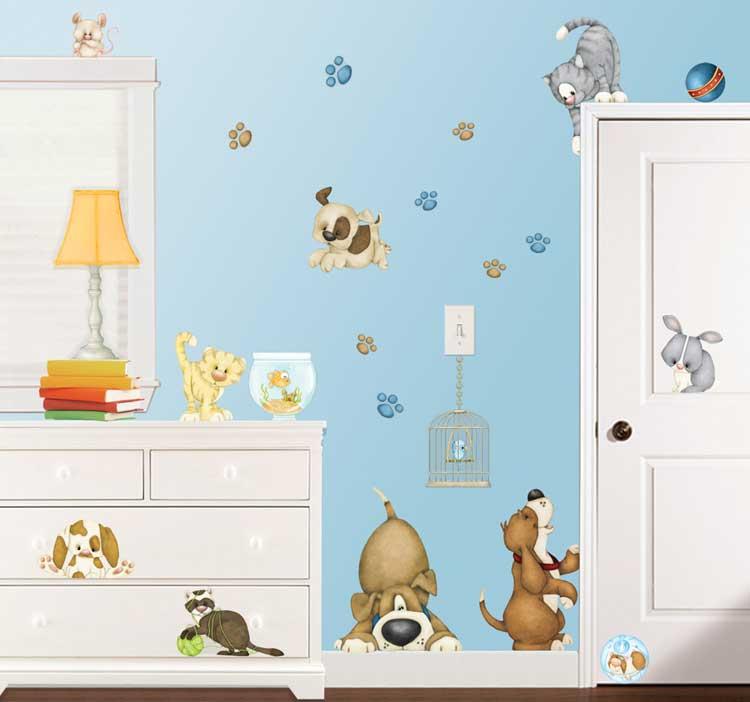 Wandtattoo Room-FX Pet Shop