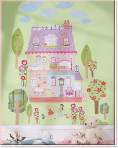 Wallies WallPlay Play House