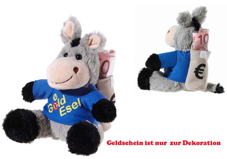 Geld- Esel, Grösse 10 cm
