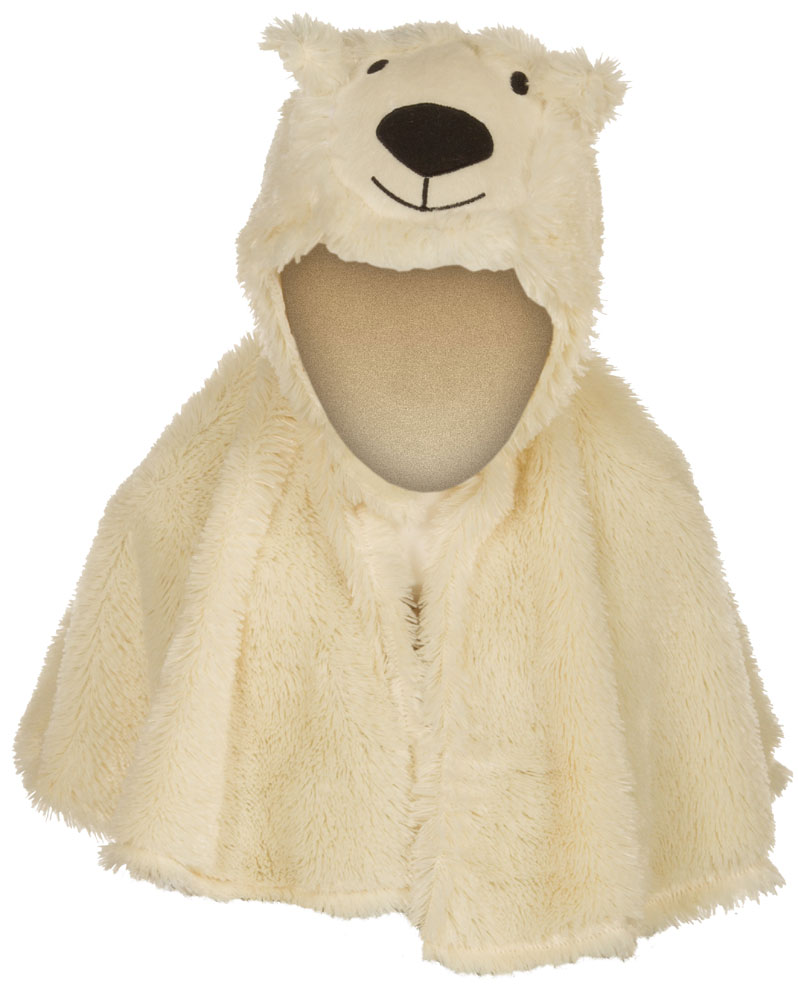 Karneval Cape Eisbär, für Kinder