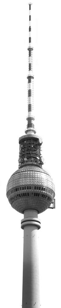 Vlies Fototapete Fernsehturm