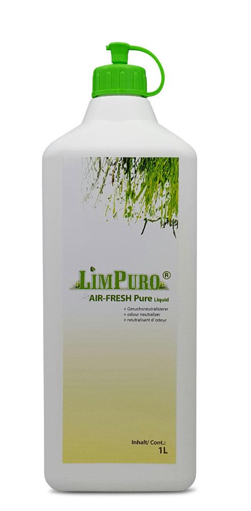 1l Nachfülleinheit für Geruchskiller Spray Limpuro air fresh Pure Liquid