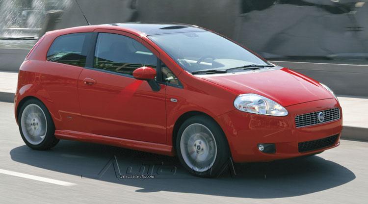 1:24 D/C Fiat Grande Punto Spritzgussmodell