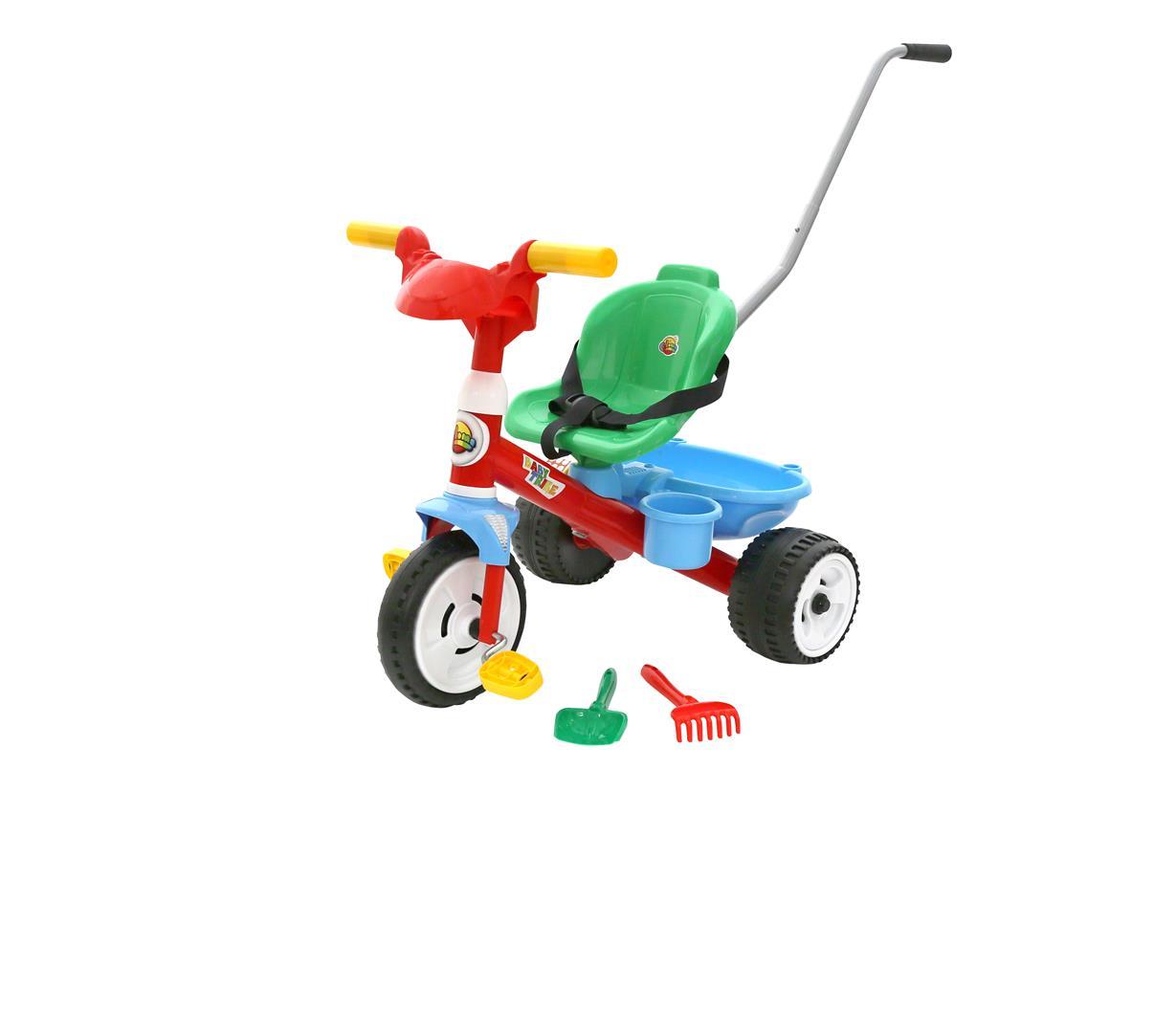 Dreirad Baby Trike, mit Zubehör