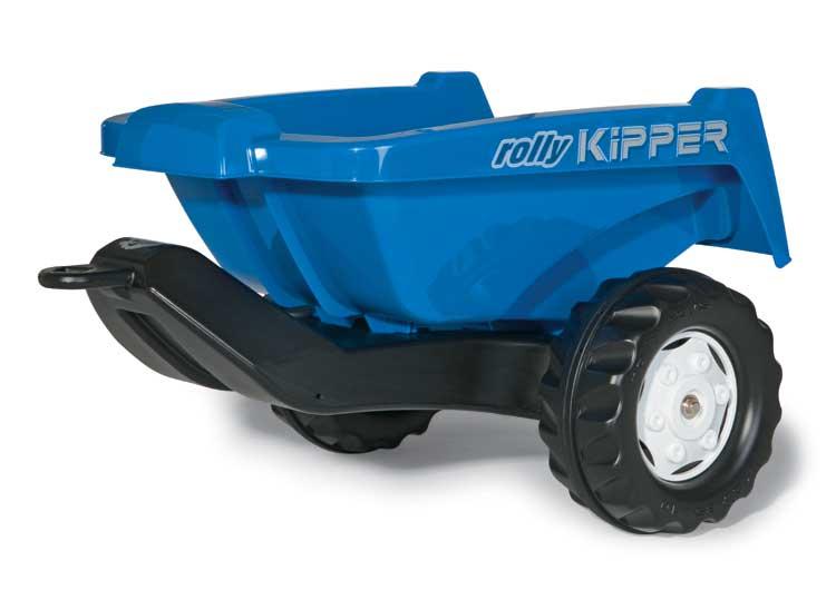 rollyKipper II Anhänger für Trettraktoren, in blau