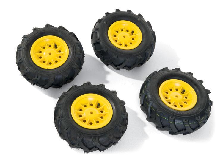 rollyLuftbereifung Luftbereifung für Trettraktoren Felge gelb