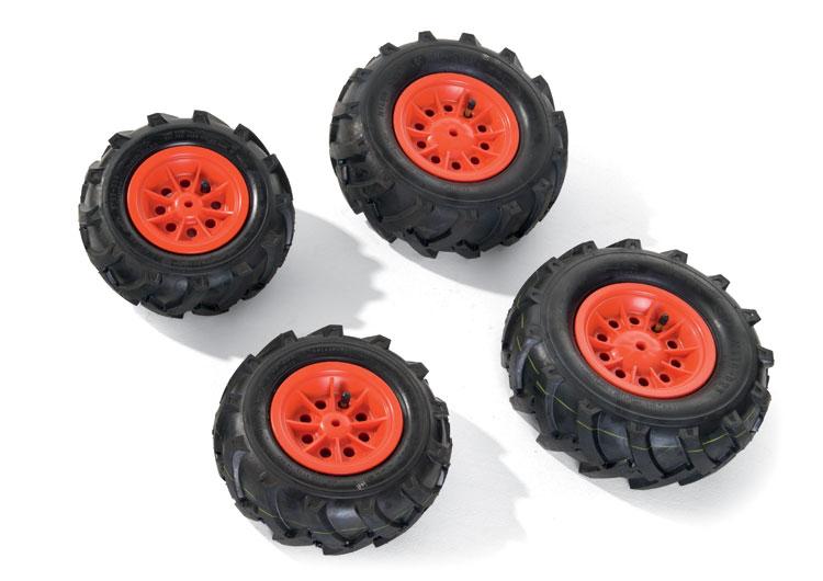 rollyLuftbereifung Luftbereifung für Traktoren Felge rot