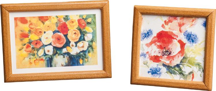 2 Bilder fürs Puppenhaus