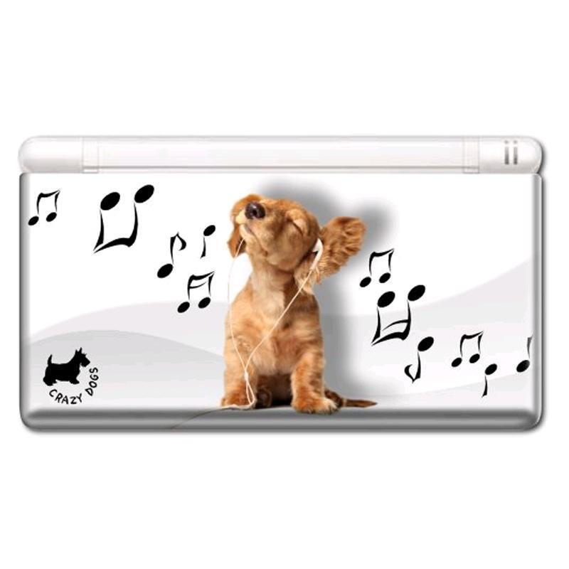 Nintendo DS Lite - Modding Skin -Music Dog-