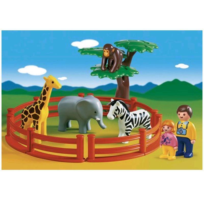 PLAYMOBIL 1.2.3 Tierparkspaß