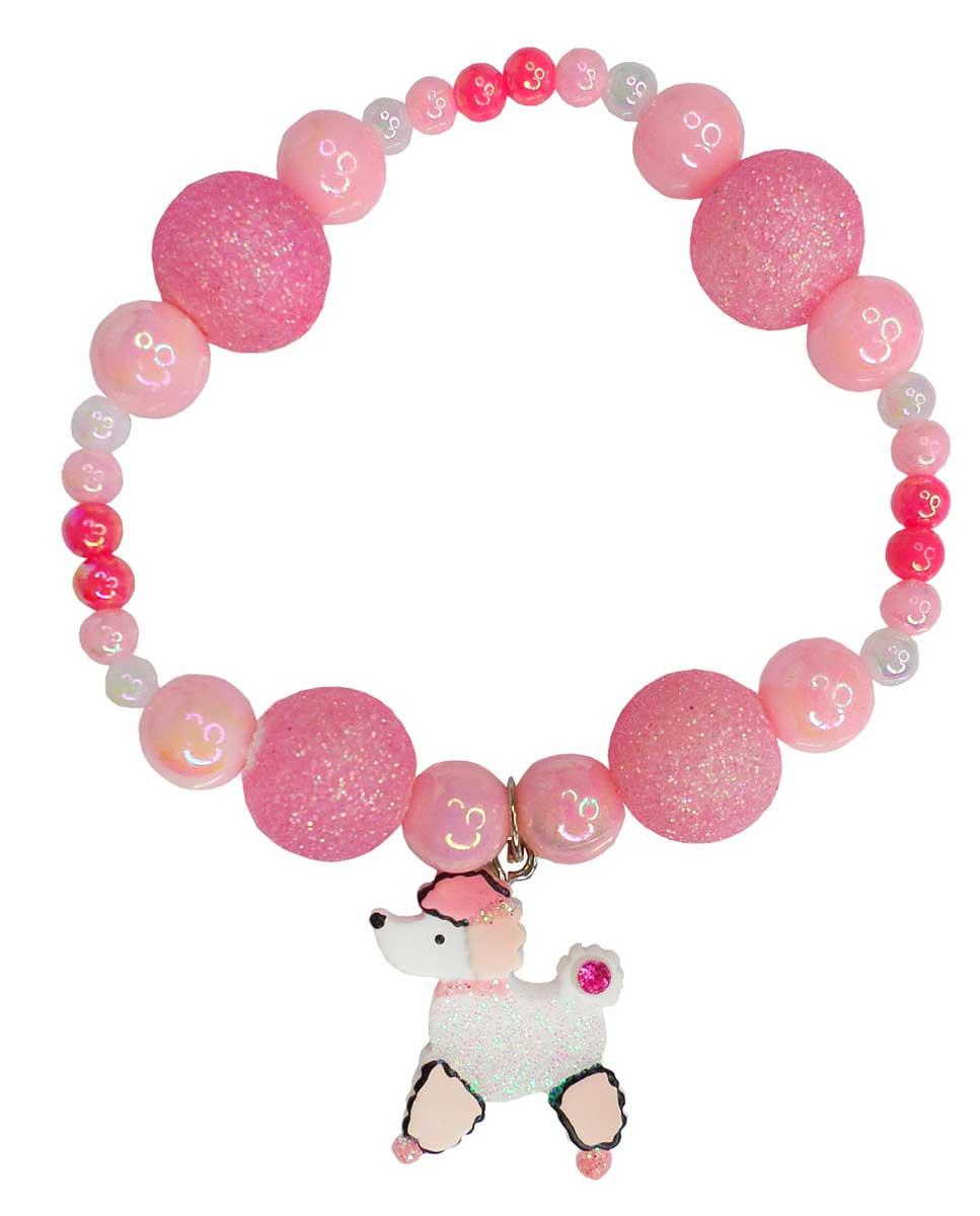 Puffed Paris Poodle Armband