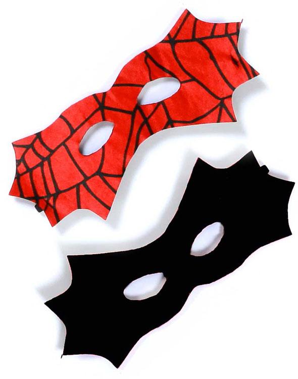 Wendemaske,  Spider- und Bat-Maske