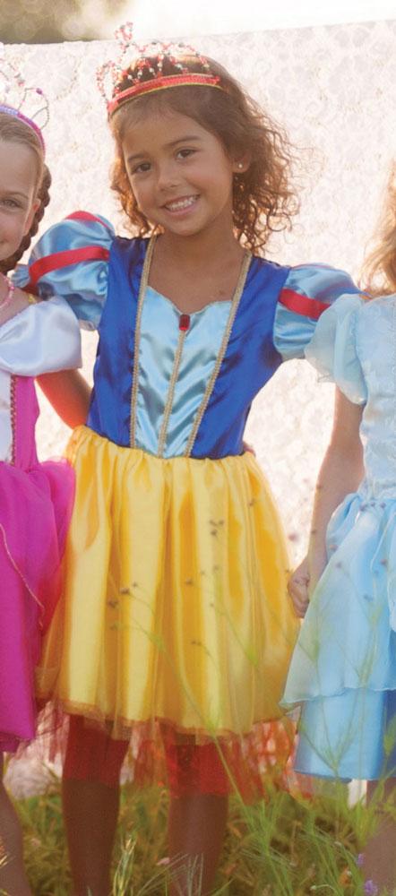Kinderkostüm Tea Party - Faschingskleid Schneewittchen