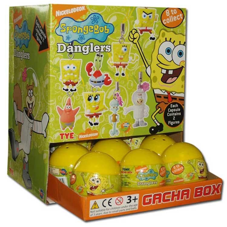 Überraschungskugel Sponge Bob Figuren Anhänger