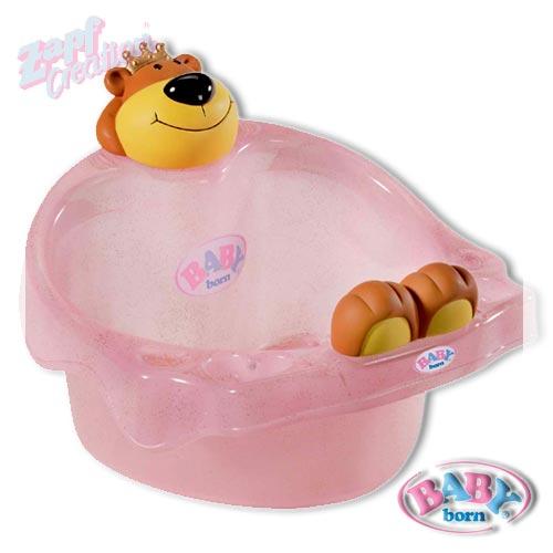 ... baby born badewanne puppen zubehör aus dem hause zapf die neue baby