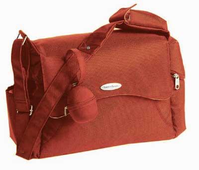 Wickeltasche/Reisetasche von Samsonite - Farbe orange