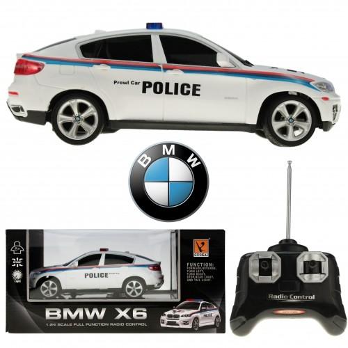 Funk-Ferngesteuerter BMW X6 Police, M 1:24