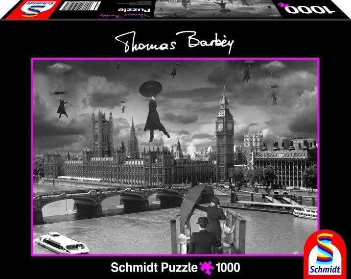 Puzzle 1000 Teile Thomas Barbey Aufwind