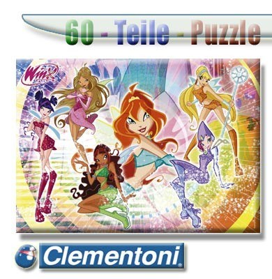 Clementoni Puzzle 60 The Queen of the Winx
