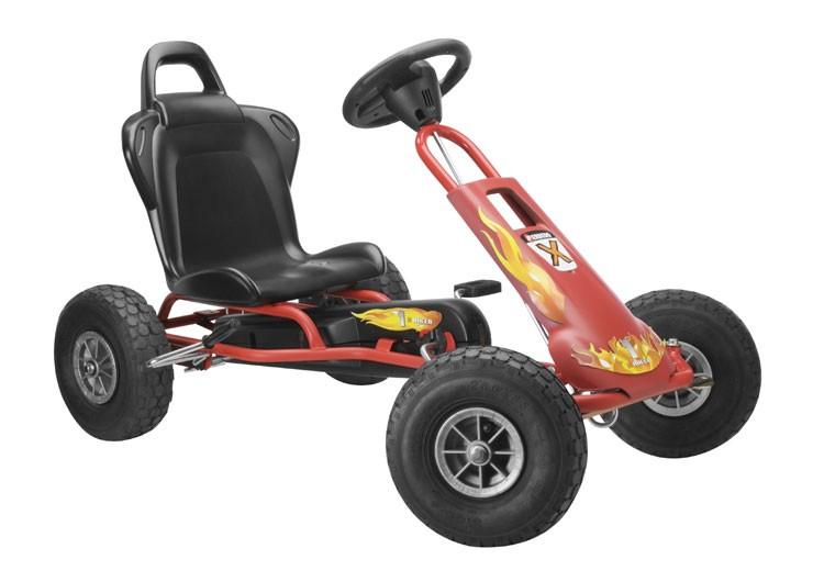 Go-Carts, Air Runner mit Soundbox Design Fire