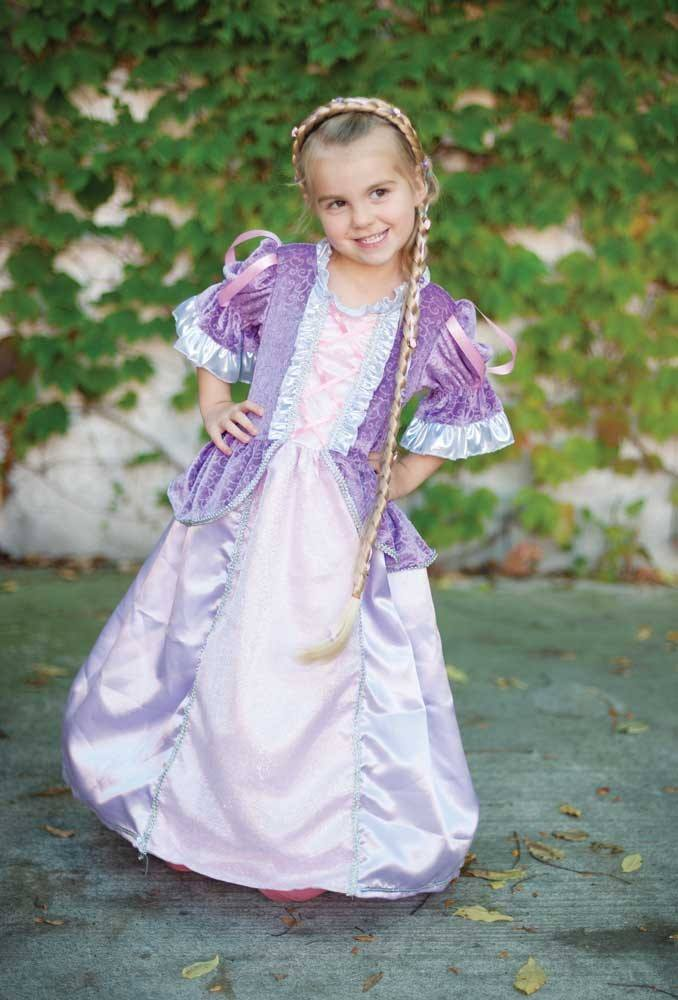 Märchenprinzessinnen-Kleid lila M