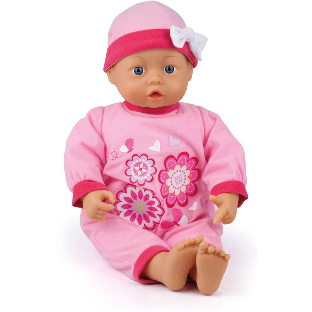 Funktionspuppe First Words Baby, 38 cm Farbe rosa