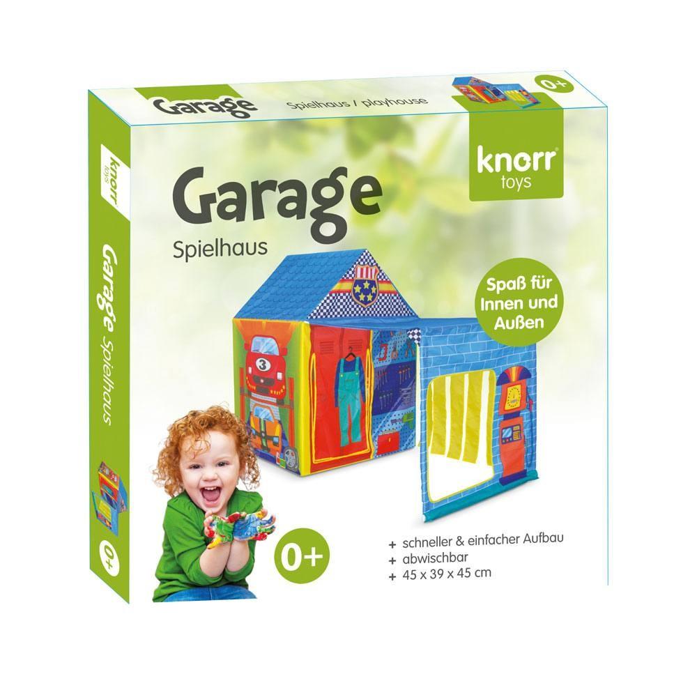 Spielhaus Garage