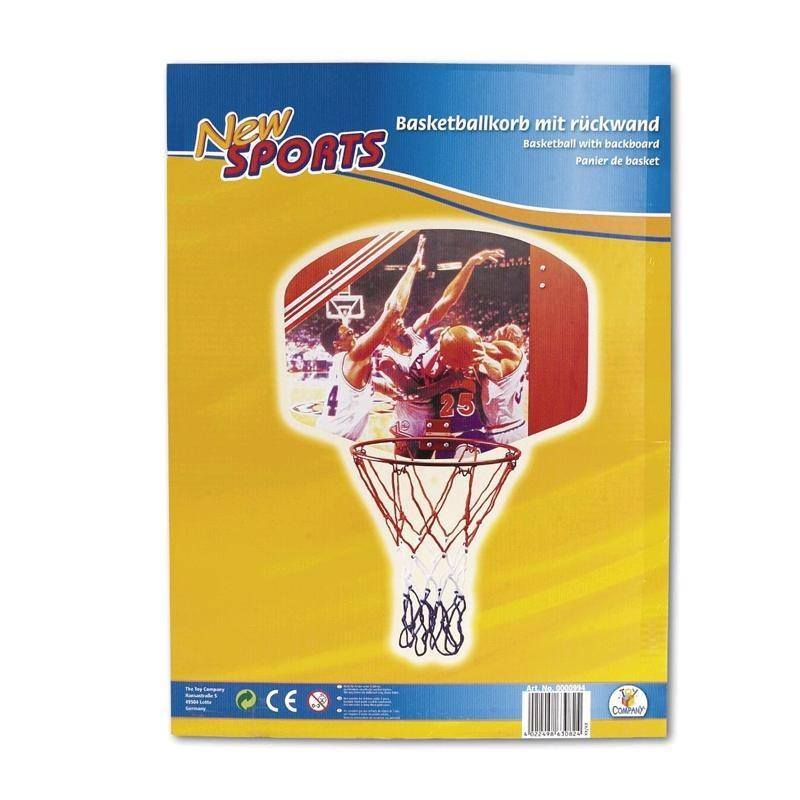 New Sports Basketballboard mit Ring