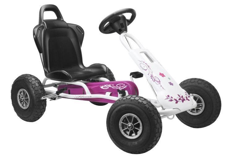 Go-Cart, Air Runner mit Soundbox Design Flower