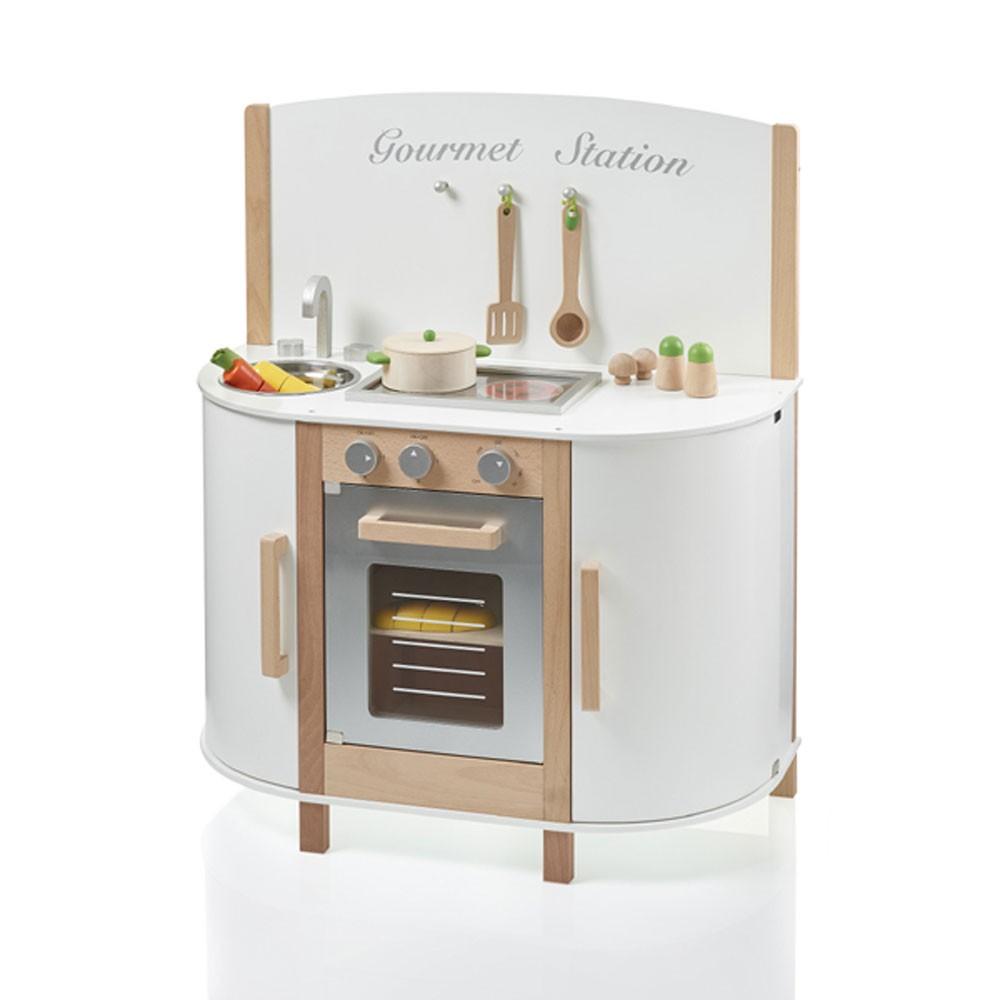 Spielküche Gourmet Station Farbe weiß
