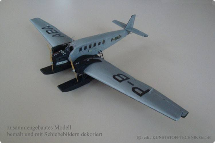 Flugzeugmodell Junkers 24 Bauserie 3 - Bausatz