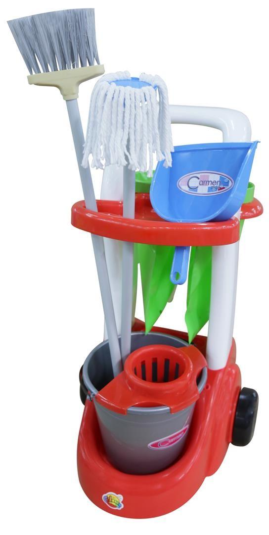 Caddy Putzwagen für Kinder