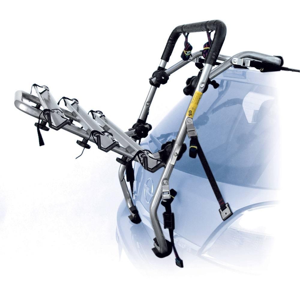 Fahrradträger für Heckklappe, für 3 Fahrräder