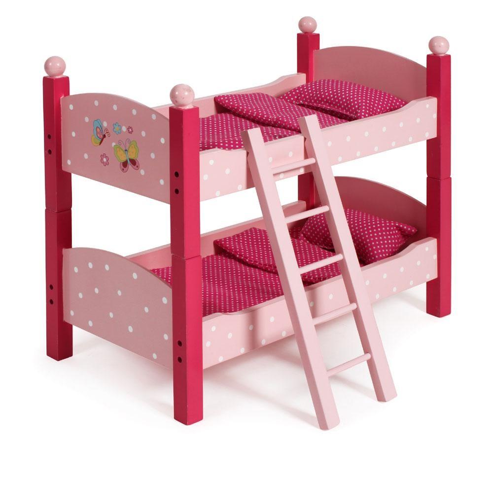 Puppen-Etagenbett Papilio pink