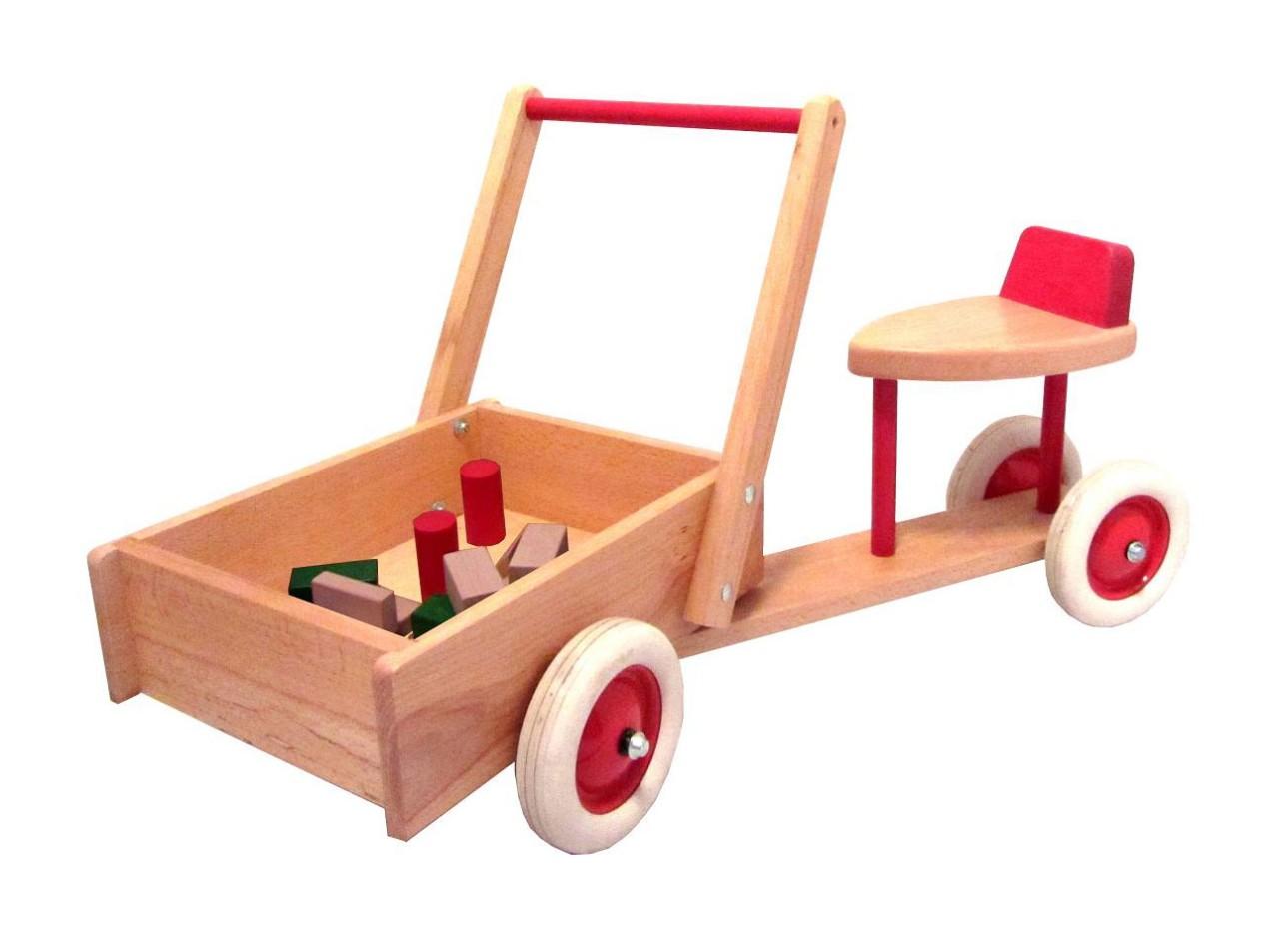 Star Rutscher mit kastenwagen zum Schieben mit Sitz