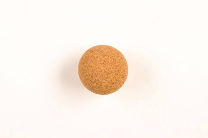 Kickerball Kork, natur-braun