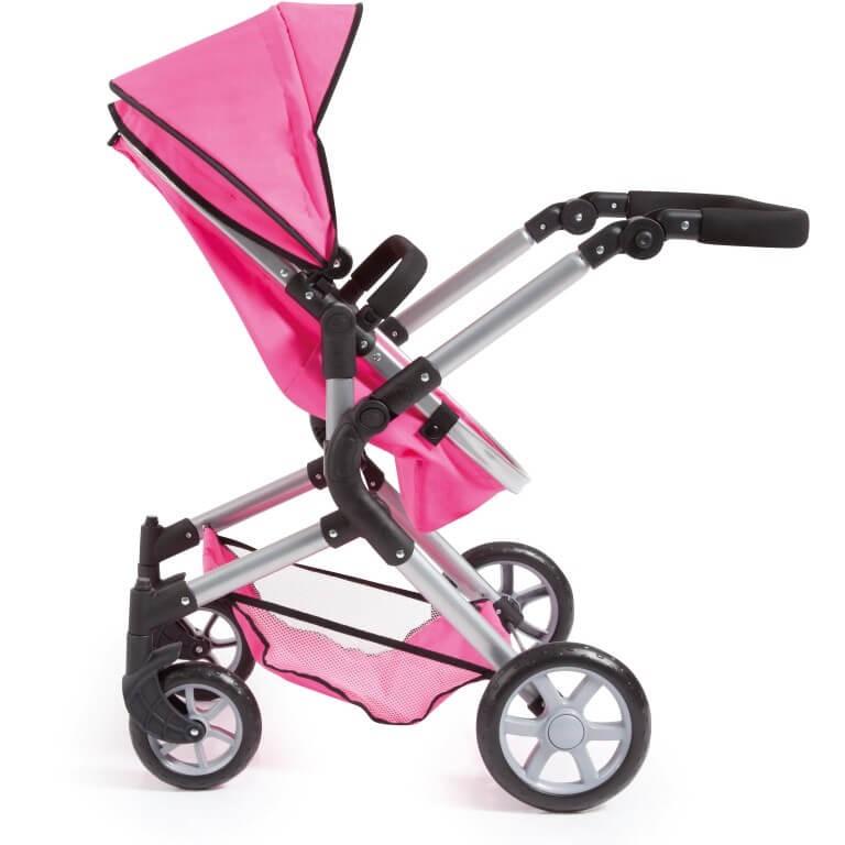 Kombi-Puppenwagen City Neo, pink