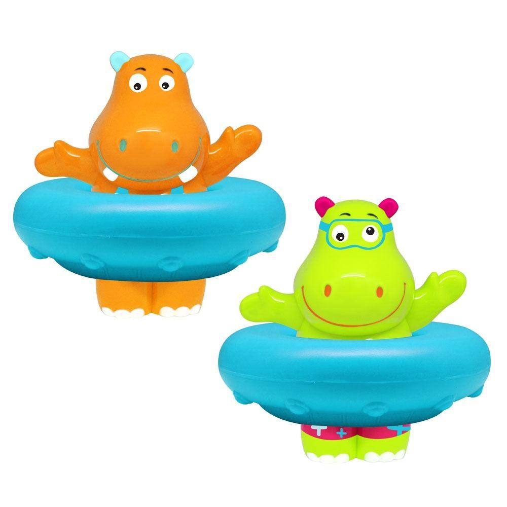 ESCABBO Whistling Hippo - Badespielzeug