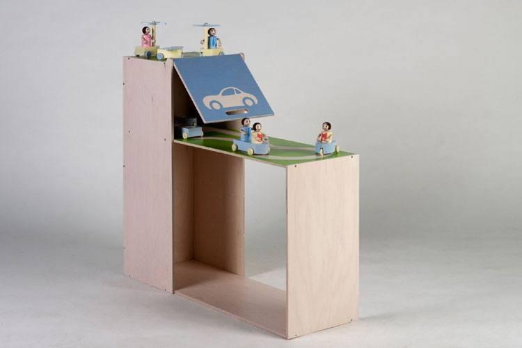 miniCITY Spieltisch mit Garage