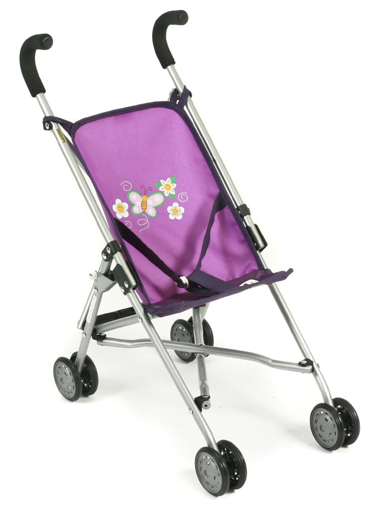Mini-Buggy ROMA für Puppen Dessin Purple Checker