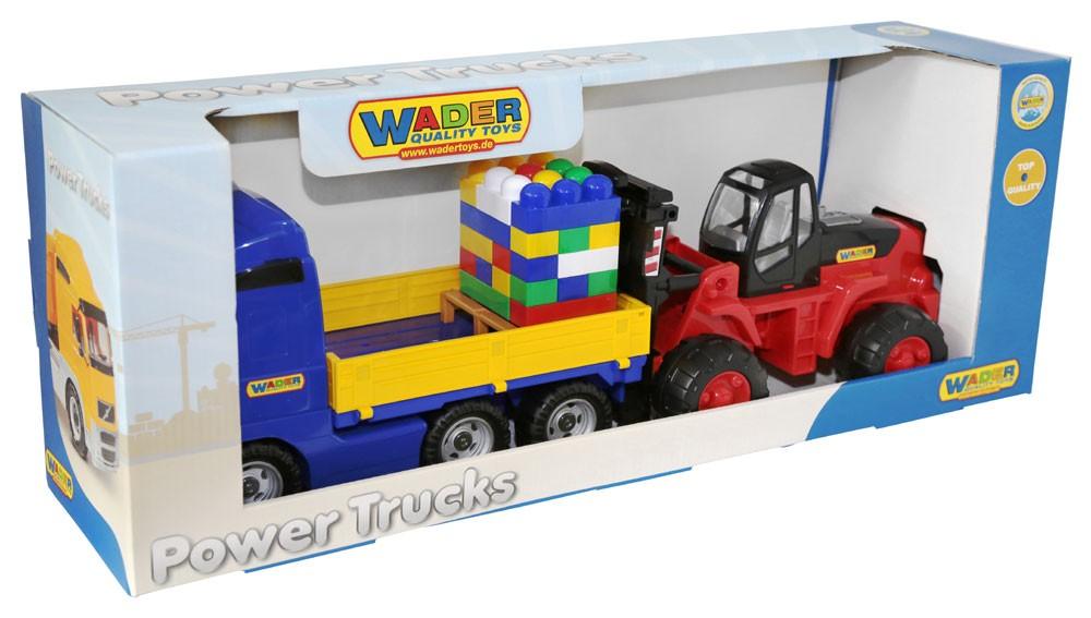 Power Truck Pritsche mit Gabelstapler im Schaukarton
