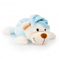 Bayer Nachtlichttier Bär blau
