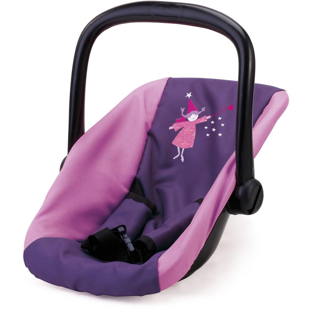 Puppen-Autositz, lila