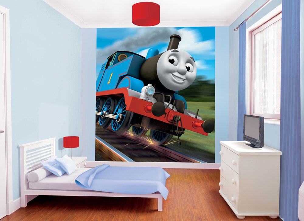 Walltastic Fototapete Thomas die Lokomotive