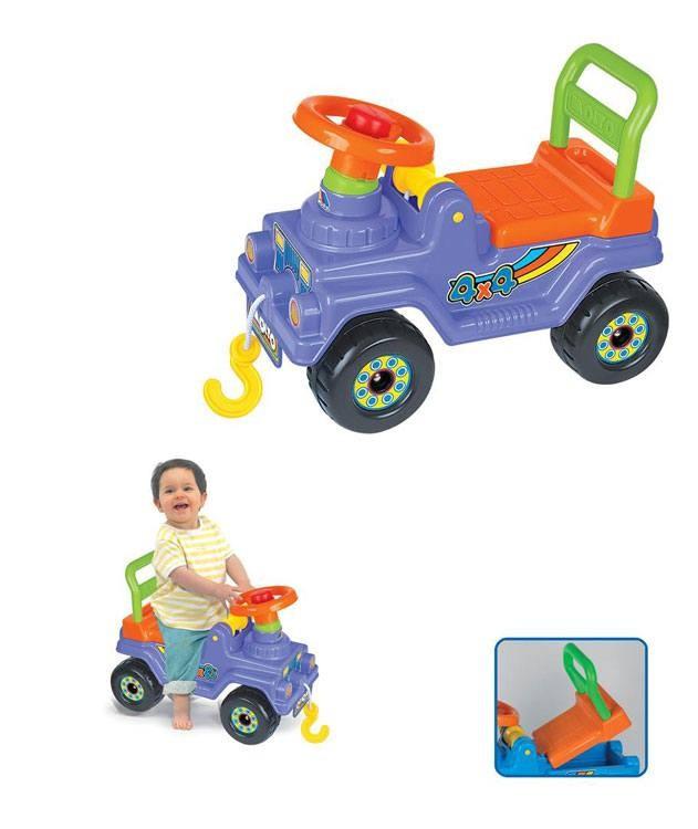 Rutscher Jeep mit Melodie