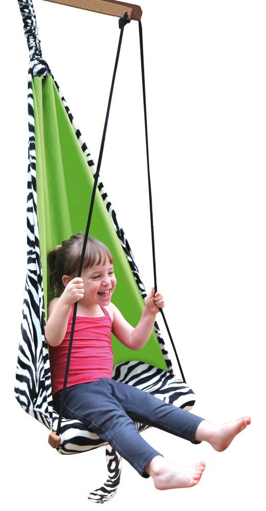 Kinderhängesessel HANG MINI, Design Zebra